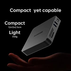 Compact yet capable