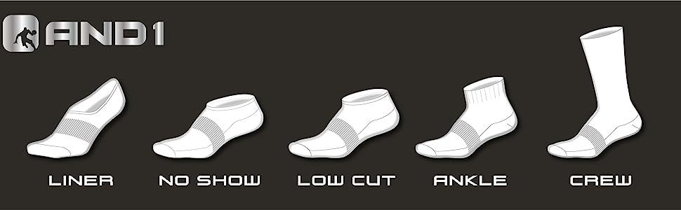AND1 Sock Portfolio