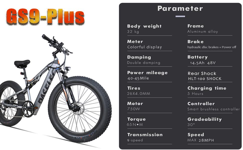 GS9-PLUS Parameter