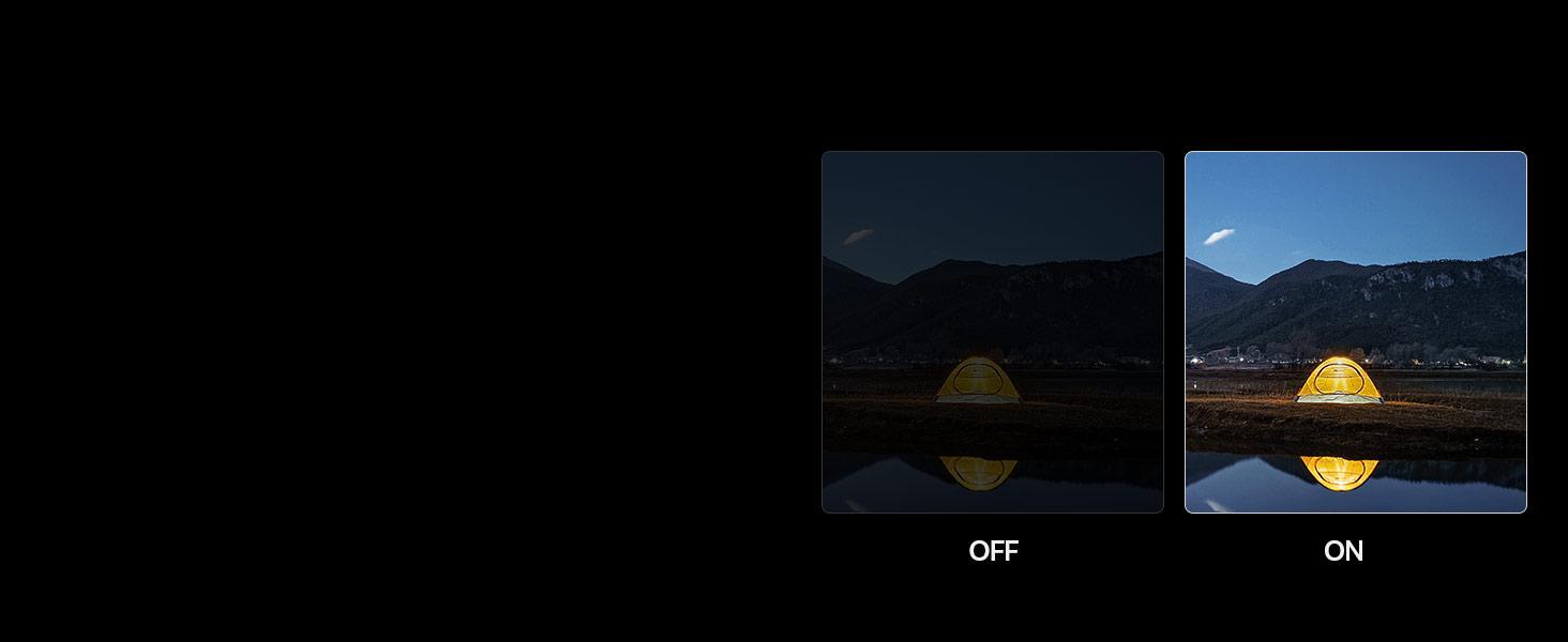 AI Super Night Mode