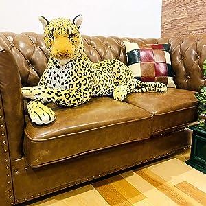 伊豆シャボテン本舗 ヒョウ 豹 特大 ぬいぐるみ 動物 抱き枕