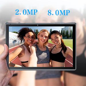 dual camera tablets