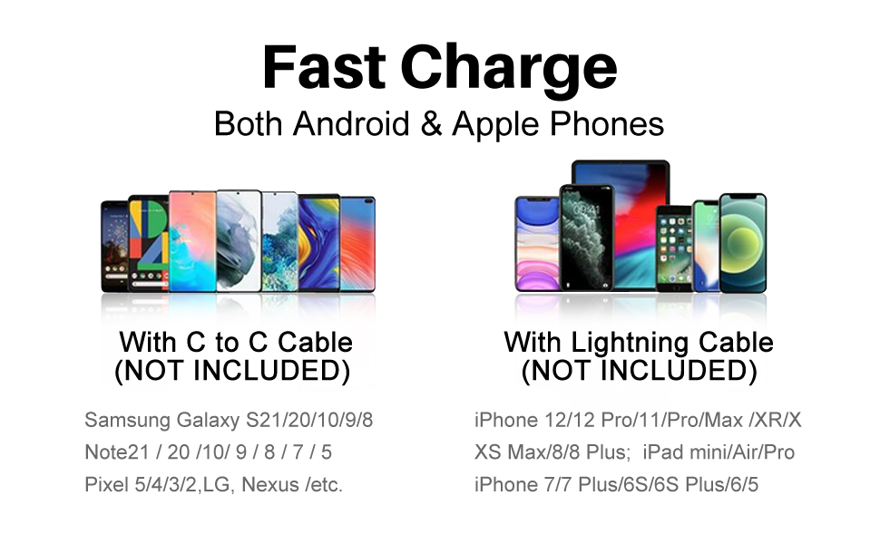 4X FASTER charging speed