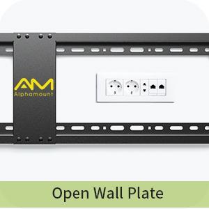 Open Wall Plate