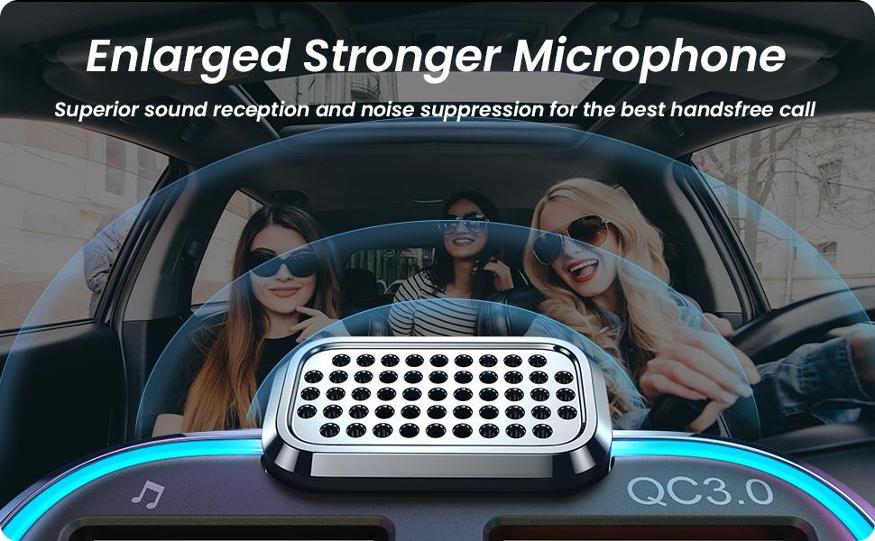 Bluetooth Fm transmitter for car adapter