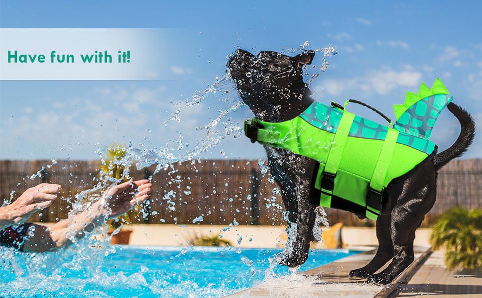 dog life vest safety