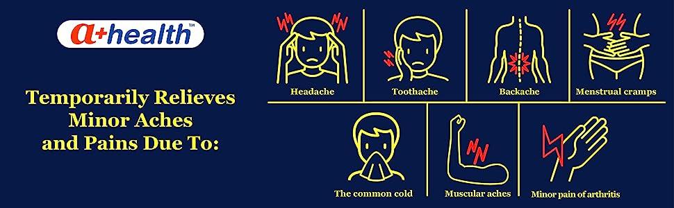headache toothache backache pain relief