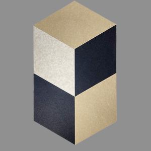 Rhombus decorative sound absorber