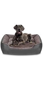 Jumbo dog bed