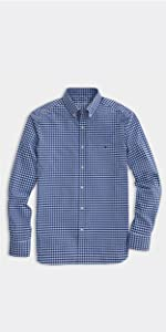 lassic Fit Gingham On-The-Go Shirt