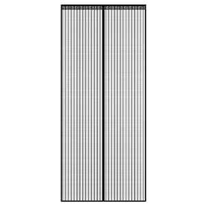 Vliegengaas deur magneet