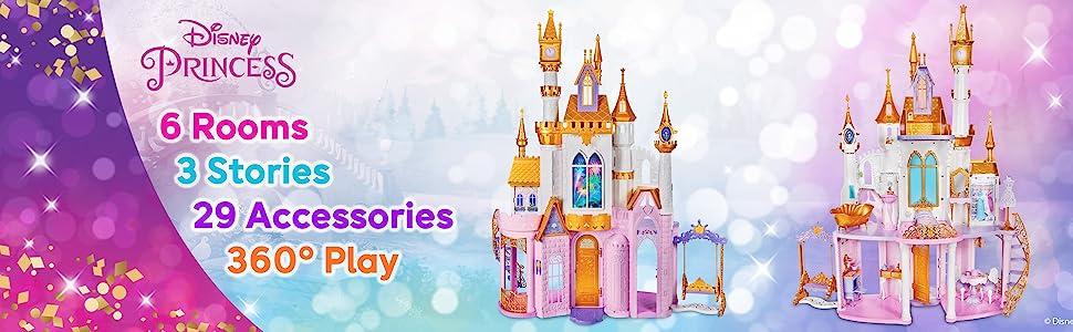 Disney Princess Ultimate Celebration Castle - Front & Back view