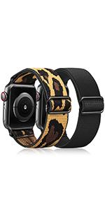 apple watch 38mm 40mm watch band elastic