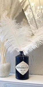 Green ostrich feather