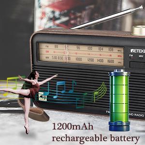 rechargeable radio