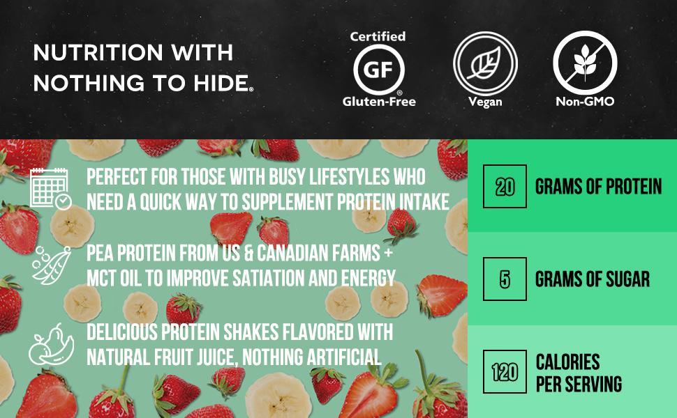 plant based protein shake, strawberry protein powder, plant based protein powder, plant protein