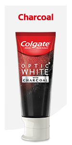 Colgate Optic White Charcoal