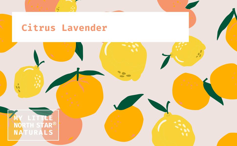 Natural Baby Shampoo and Body Wash Citrus Lavender
