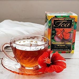 Hawaiian Island Tea - Hibiscus Honey Lemon