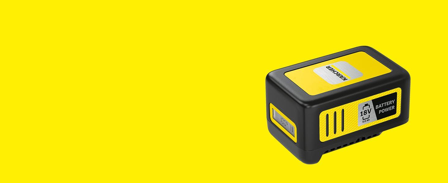 Batería de recambio de 18 V/5 Ah