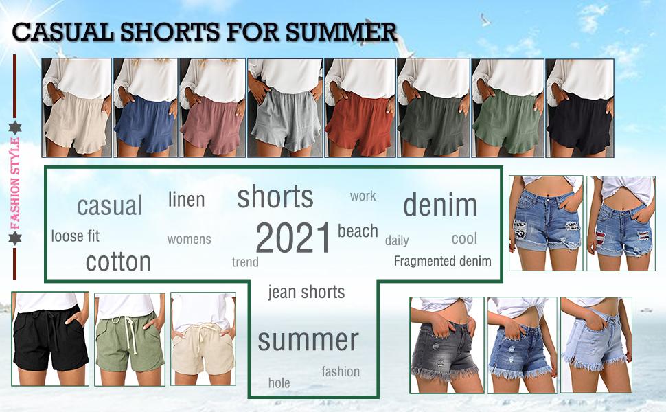 women shorts summer