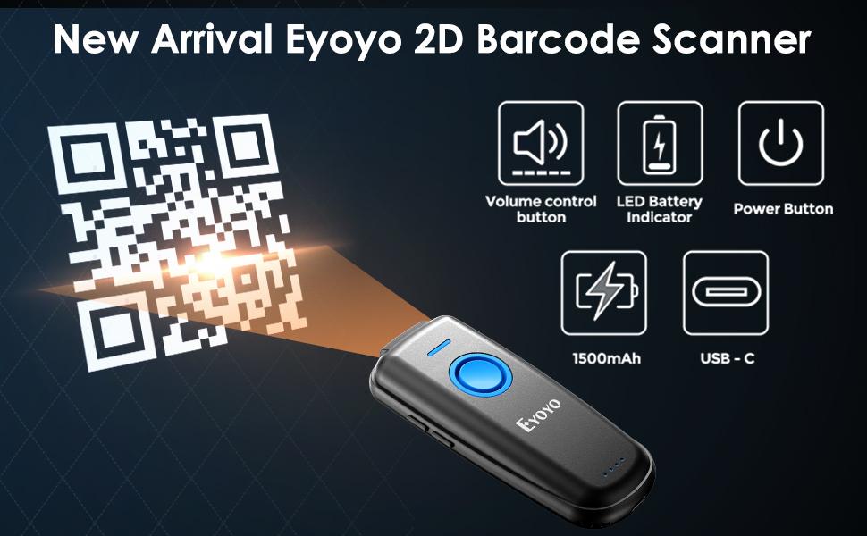EY-023 2D BARCODE SCANNER BLUETOOT