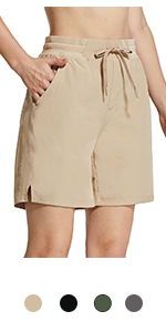 BALEAF Women's 7quot; Hiking Shorts
