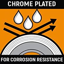 Chrome Plated for Corrosion Resistance