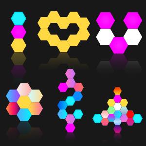 Hexagon LED Licht