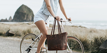 leather tote abg for women
