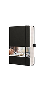 EMSHOI A5 Graph Paper Notebook 256 Pages