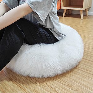 Super Thick and Fluffy Floor Pillow Cover