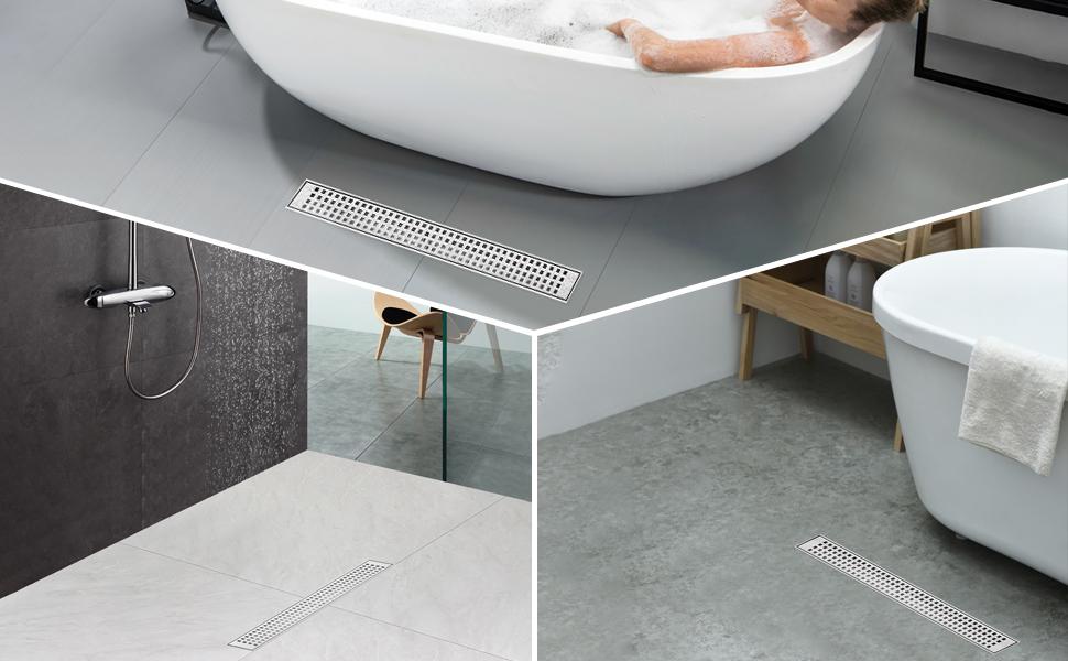 linear shower drain linear shower drain 24 inch linear drain 24 inch shower linear drainfor Bathroom