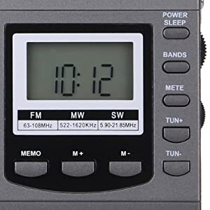 Simple Operation Portable Radio