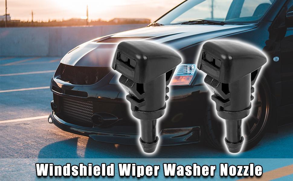 Windshield Wiper Washer Nozzle