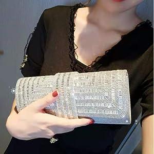 silver rhinestone purse
