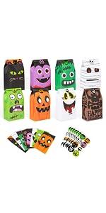 Halloween Treat Bags Bulk B08BHXMCVF