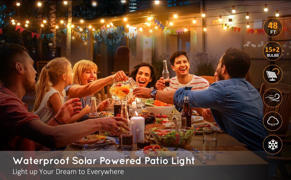 Solar Patio Light