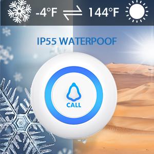 IP55 waterproof