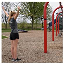 outside workout park resistance bands strength training