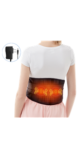heating waist pads