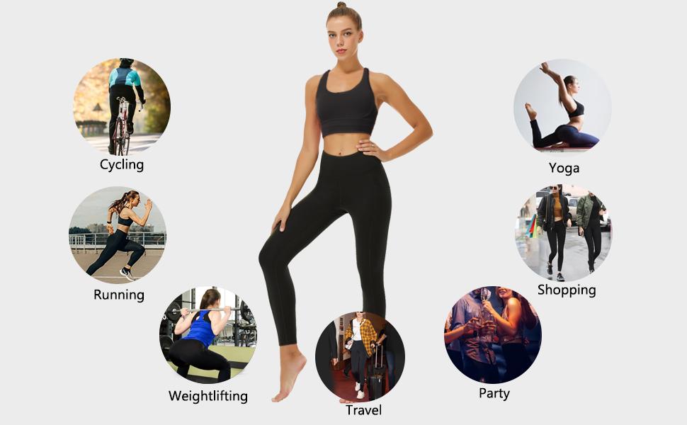 control top leggings for women