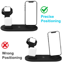 4 in 1 fast wireless charging station