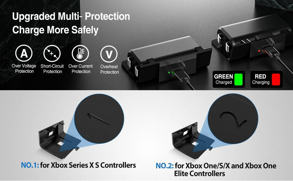 xbox battery pack rechargeable