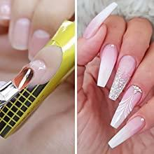 poly extension gel nail