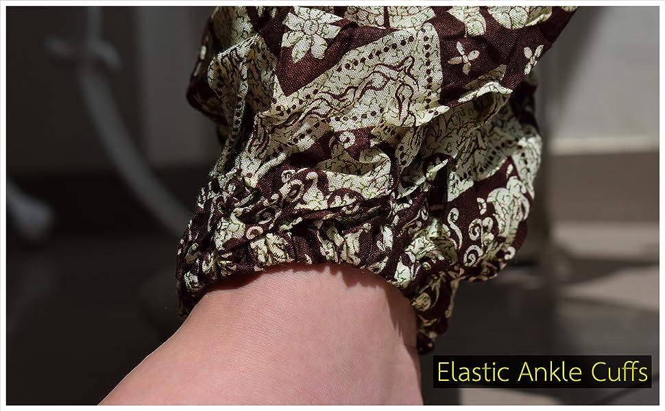 Elastic Balloon Ankle Cuffs