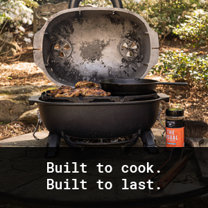Built To Cook. Built To Last.