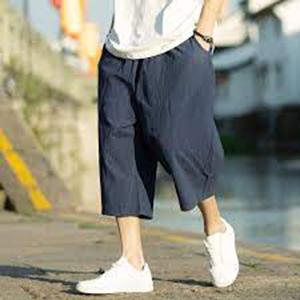cotton linen pants for men thai baggy capris pants mens mens capri beach pants coofandy beach pants