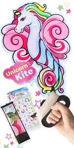 unicorn kite
