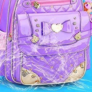 Backpack for Girls, Waterproof Kids Backpacks School Bag Toddler Bookbags Cute Travel Daypack